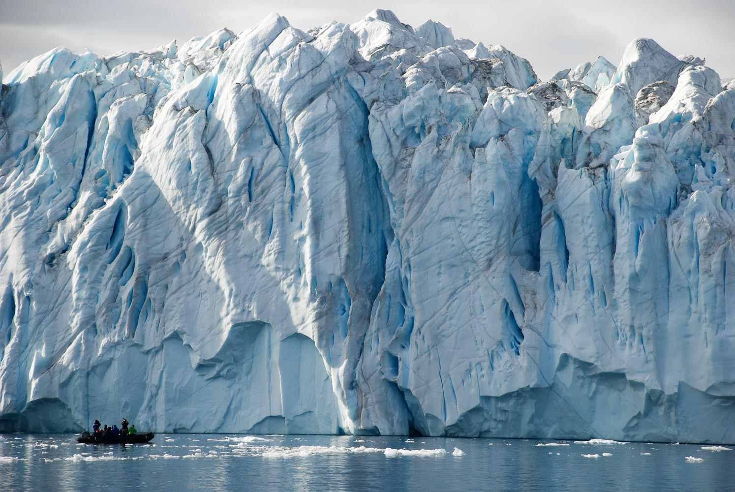 Jonathan Zaccaria and you in Greenland by an icefront