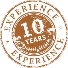 ten years of experience